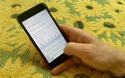 Two Quick Tricks You Can Use with the iOS Space Bar
